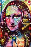 Mona Lisa by Dean Russo Pop Art Print Poster Prints