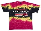 NFL: Cardinals Horizontal Stencil T-shirts