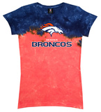 Juniors: Broncos Banded Logo Shirts
