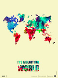 It's a Beautifull World Poster 2 Prints by  NaxArt
