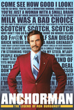 Anchorman - Quotes Movie Poster Posters