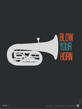 Blow Your Horn Poster Prints by  NaxArt