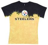 Juniors: Steelers Banded Logo Shirt
