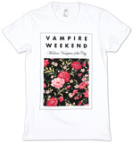 Juniors: Vampire Weekend - Floral T-Shirts