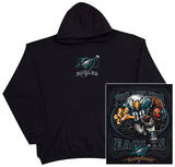 Hoodie:NFL: Philadelphia Eagles- Running Back (Front/Back) プルオーバー