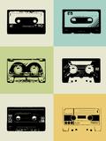 NaxArt - Mix Tape Poster - Reprodüksiyon