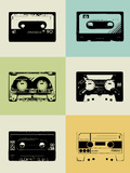Mix Tape Poster Posters by  NaxArt