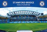 Chelsea FC Stamford Bridge Soccer Sports Poster Poster