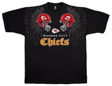 NFL: Chiefs Face Off T-shirts