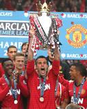 Robin Van Persie Manchester United Champions Glossy Photograph Photo