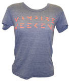 Juniors: Vampire Weekend - Orange Logo T-Shirt