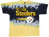 Steelers Horizontal Stencil T-shirts