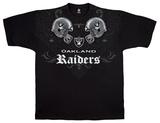 Raiders Face Off T-skjorte