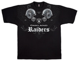 Raiders Face Off T-shirts