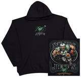 Hoodie: NFL: NY Jets Running Back (Front/Back) Pullover Hoodie