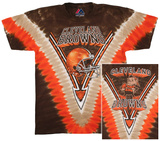 NFL: Browns Logo V-Dye Shirts