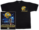 Packers Logo Sky Helmet T-shirts