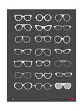 Glasses Poster II Poster by  NaxArt