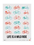 Life is a Wild Ride Poster III Giclée-Premiumdruck von  NaxArt