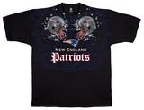 NFL: Patriots Face Off T-skjorte