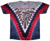 Falcons Logo V-Dye T-skjorter