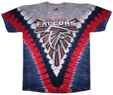 Falcons Logo V-Dye Shirts