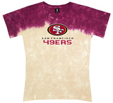 Juniors: 49ers Banded Logo T-Shirt