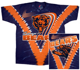 Bears Logo V-Dye Shirt