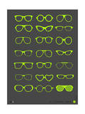 Glasses Poster III Posters by  NaxArt