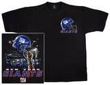 NFL: Giants Logo Sky Helmet T-Shirt