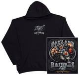 Hoodie: Raiders Running Back T-skjorter