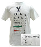 Yo La Tengo - Eye Chart T-shirts