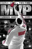 LeBron James Miami Heat 2013 NBA Finals MVP Sports Poster Posters