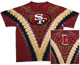 49ers Logo V-Dye Shirt