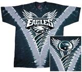 Eagles Logo V-Dye T-skjorte
