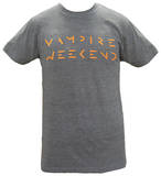 Vampire Weekend - Orange Logo Shirts