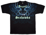 Seahawks Face Off T-Shirt