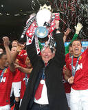 Sir Alex Ferguson Manchester United Champions Glossy Photograph Photo