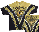 NFL: Saints Logo V-Dye T-shirts