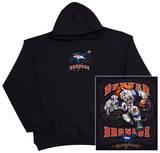 Hoodie: NFL: Dencer Broncos- Running Back (Front/Back) Hettegenser