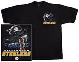 NFL: Steelers Logo Sky Helmet T-skjorte