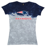 Juniors: Patriots Banded Logo T-shirts