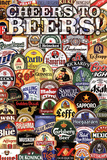 Cheers To Beers Posters