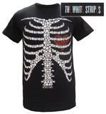 The White Stripes - Button Skeleton Tshirts