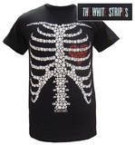 The White Stripes - Button Skeleton T-shirts