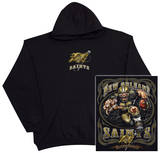 Hoodie: NFL: New Orleans Saints- Running Back (Front/Back) Pullover Hoodie