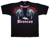 Broncos Face Off Shirts