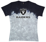 Juniors: Raiders Banded Logo T-Shirt