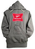Hoodie - Miller High Life Beer Holder Pouch Shirts