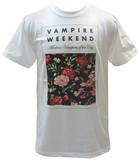 Vampire Weekend - Floral (slim fit) T-shirty